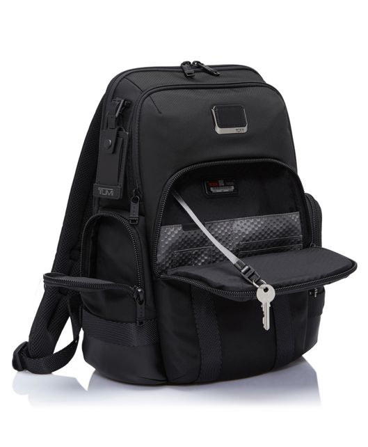 NORMAN BACKPACK BLACK - large | Tumi Thailand