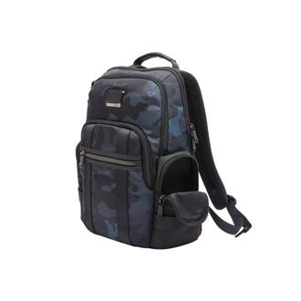 NORMAN BACKPACK Navy Camouflage - medium | Tumi Thailand