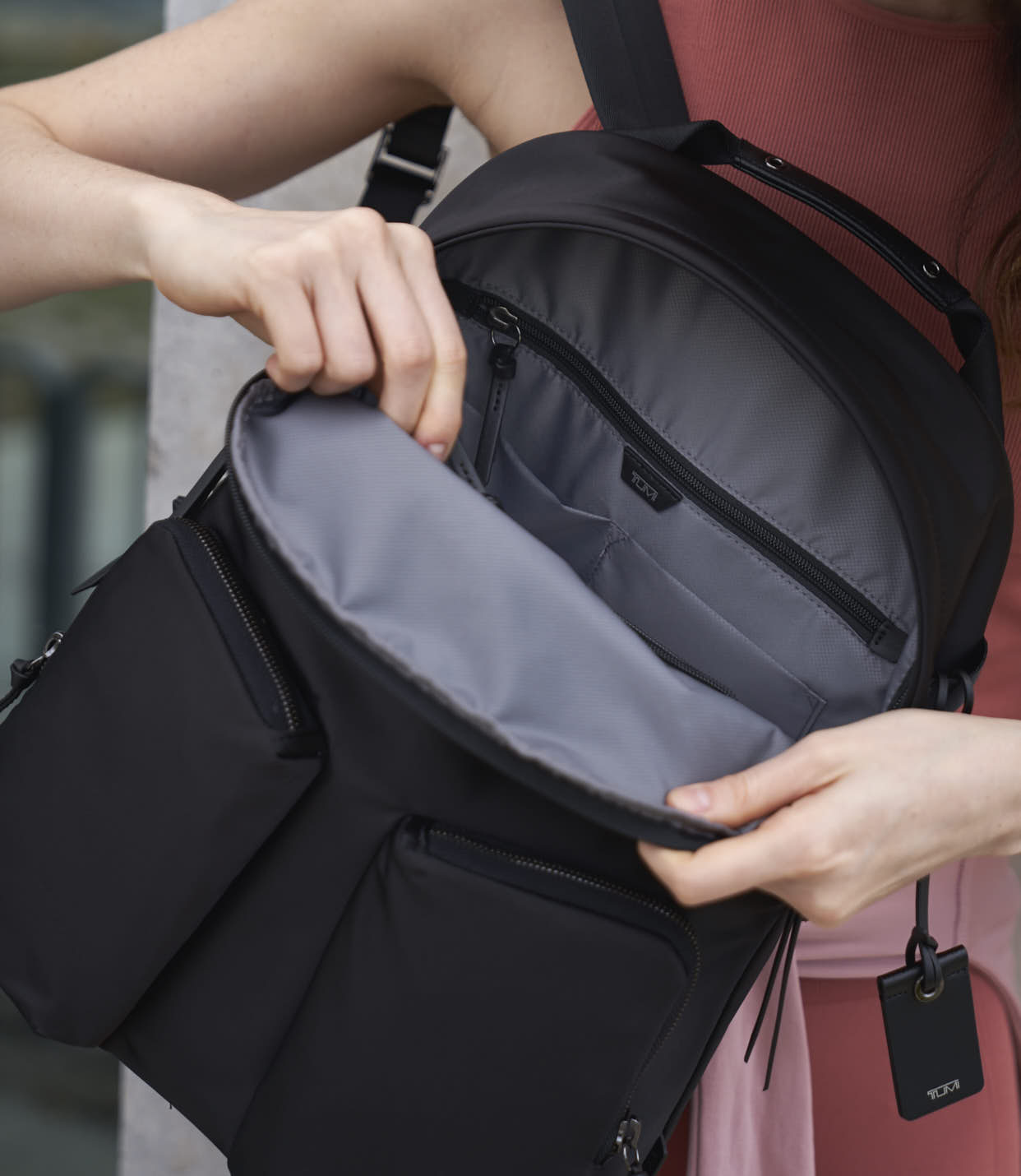 MEADOW BACKPACK BLACK - lifestyle | Tumi Thailand