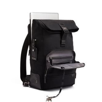 OSBORN ROLL TOP BACKPACK Black - medium | Tumi Thailand
